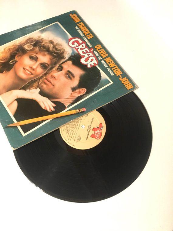 Grease - Soundtrack  Label: RSO – RS-2-4002 Format: 2 × Vinyl, LP, Album…