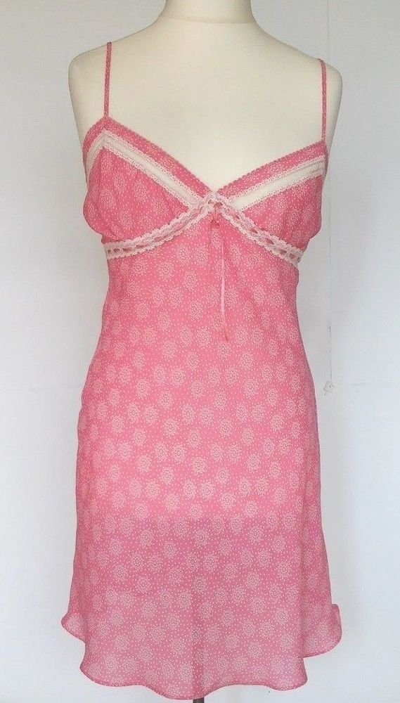 PRESENC Sexy Nightgown Babydoll Sleepwear LACE Pajamas Night EU  SIZE 12 #PRESENC
