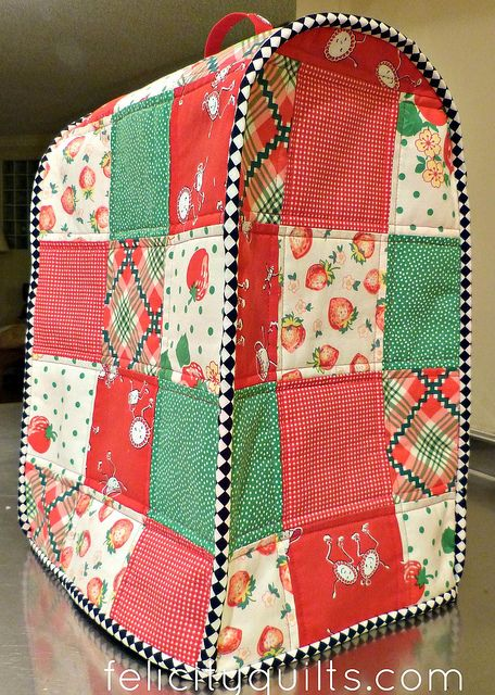 Food Processor Cover By Felicity Quilts Via Flickr