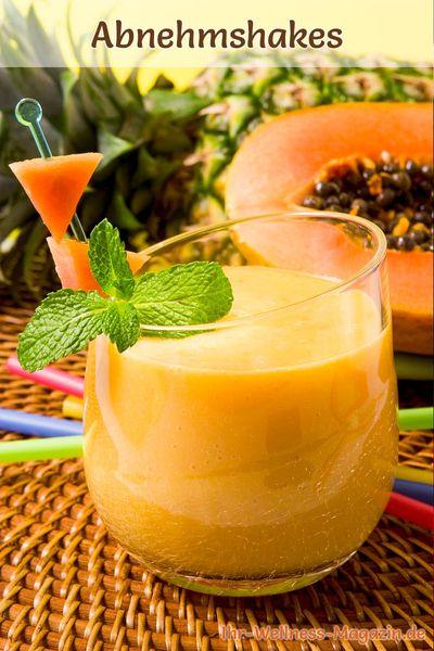 Abnehmshake mit Papaya selber machen