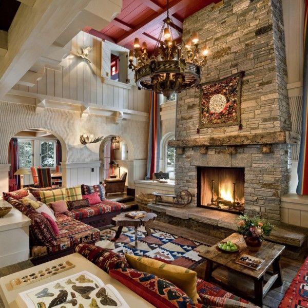 881 best ~log home living ~ images on Pinterest | Log cabins ...