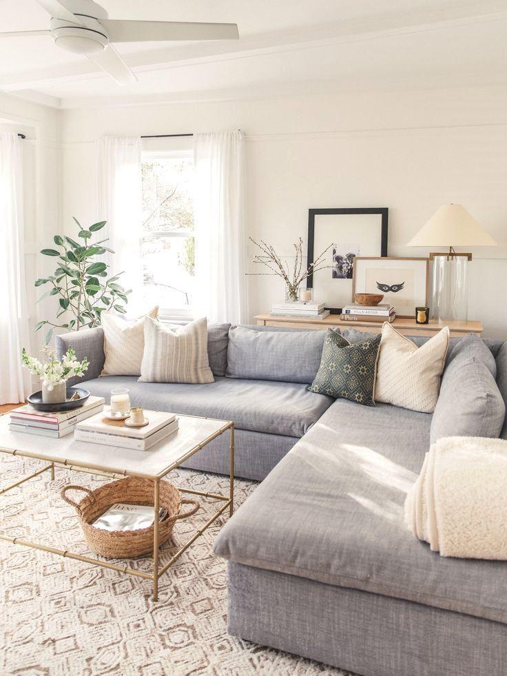 White Paint Guide Harlowe James Farm House Living Room