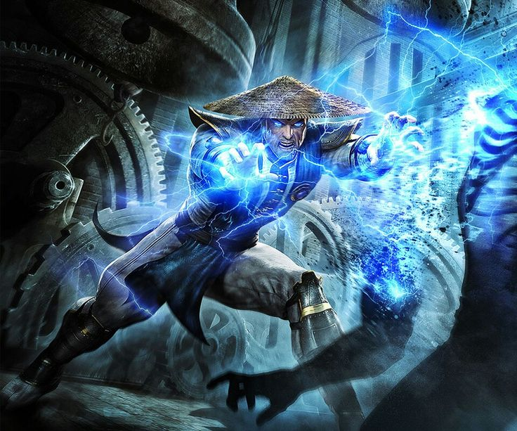 Raiden.. Concept Art from Mortal Kombat 2011
