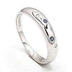 Sød ring i sølv