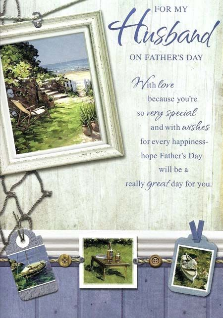 Today we are here to provide you the best Father's Day for Husband to wish y...