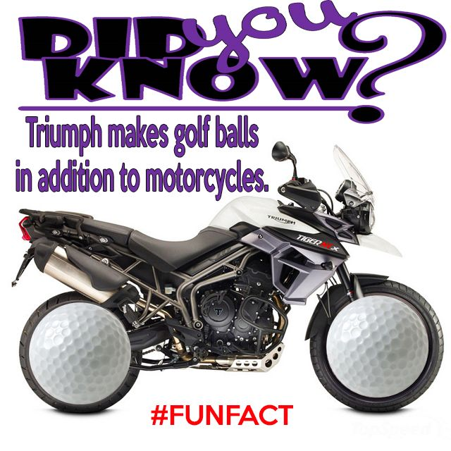 20 MOST Amazing #Motorcycle #Facts you might not have known about @TriumphZA #DidyouKnow