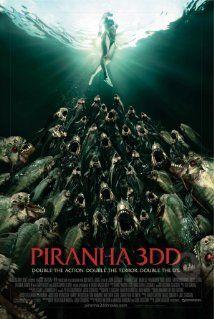 Piranha 3DD (2012) Poster