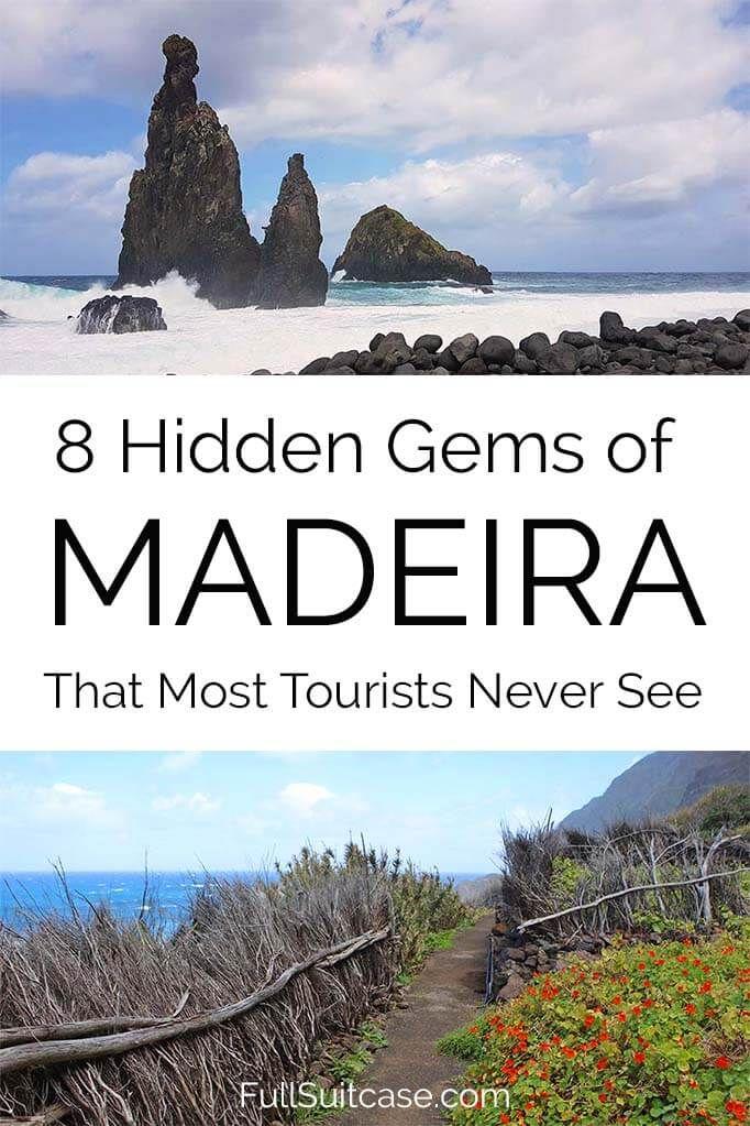 8 gemme nascoste di Madeira che la maggior parte dei turisti non vede mai
