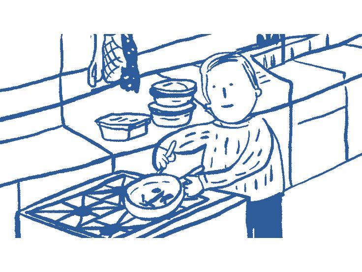 Solito cocinando by sebastian muñoz lineros