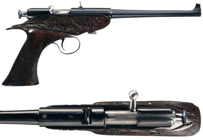 Peculiar Pistol: The Winchester Bolt-Action Pistol - Guns & Ammo