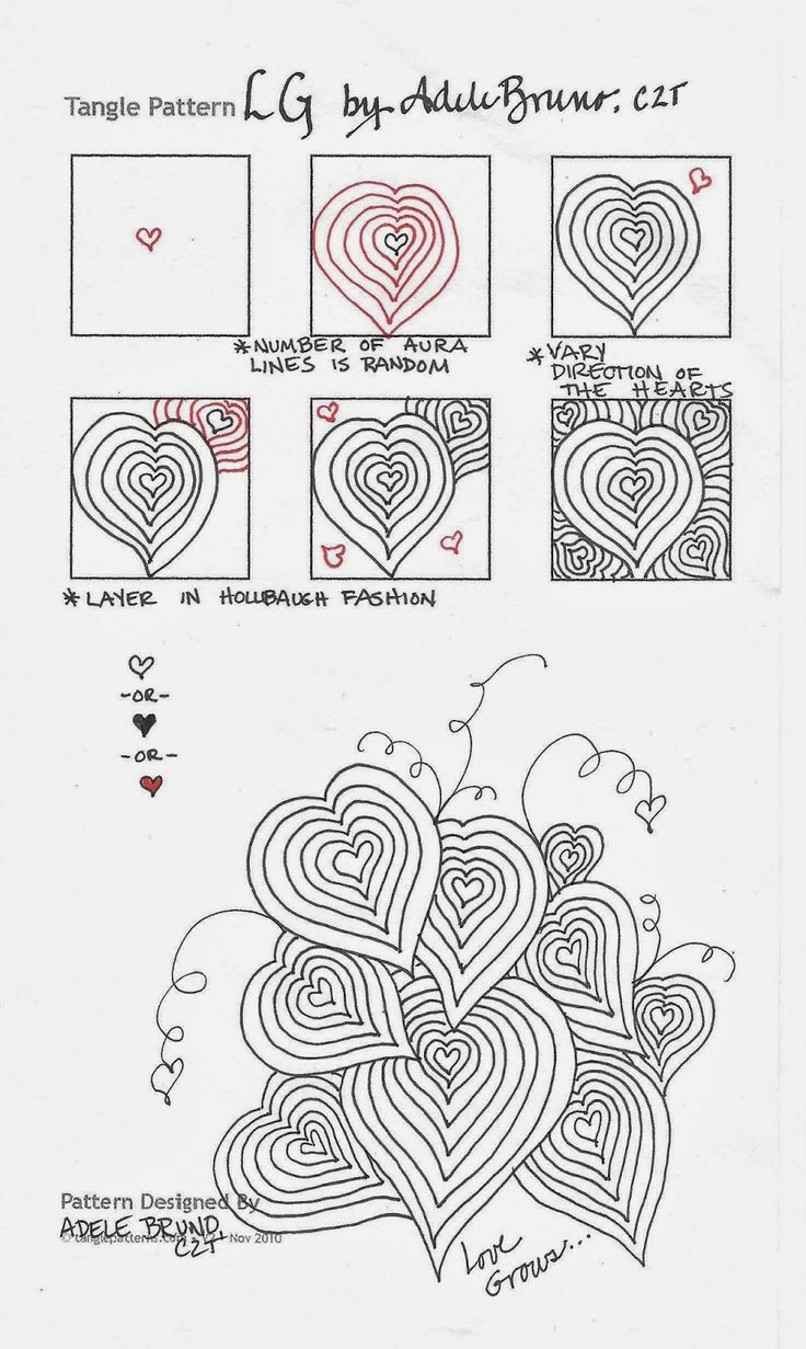 459 best images about zentangle patterns on pinterest for Doodle tutorial