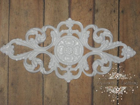 Another possible wood(like) applique for front of sewing caddy. Furniture applique / craft applique / by RejuvenatedCreations, $7.49