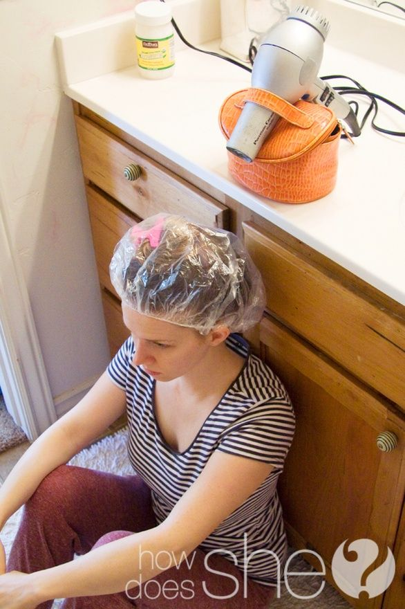 Coconut Oil Hair Treatment. Pinner says: I just did this today, and my hair is super soft and shiny! It also smells amazing. pin now, try later