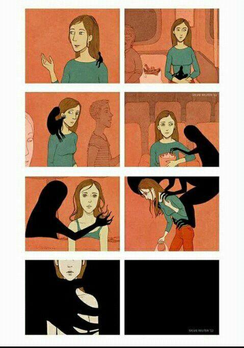 How depression works...