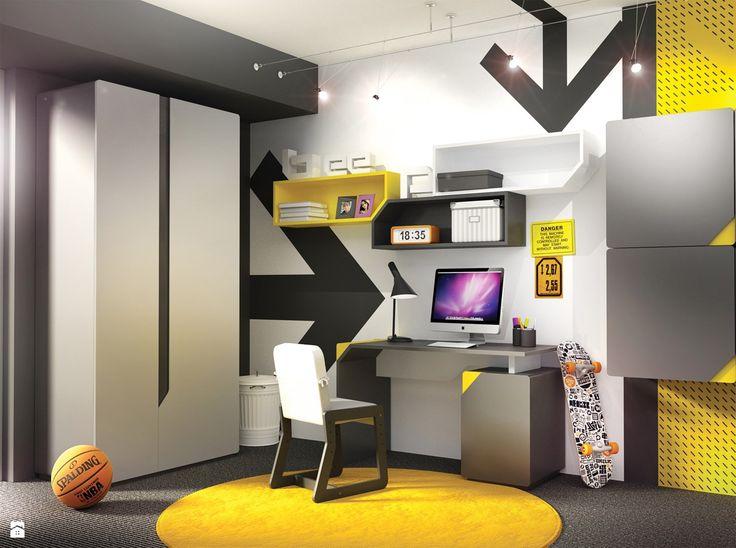 Pokój młodzieżowy dla chłopca - zdjęcie od Gotowe Wnętrza - Pokój dziecka - Styl Nowoczesny - Gotowe Wnętrza
