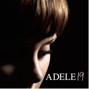 ADELE19 album cover - Moody lightning close up portray - plain. I like all her album covers with her age on it. I think its a good and unusual way to give her albums a chronologic order. The use of dark tones make a clam and mysterious atmosphere. I like the composition with the shadows and the clean line of the nose.