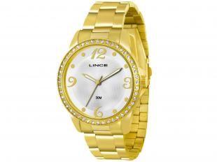 Relógio Feminino Lince LRGJ027L S2KX - Analógico Resistente a Água