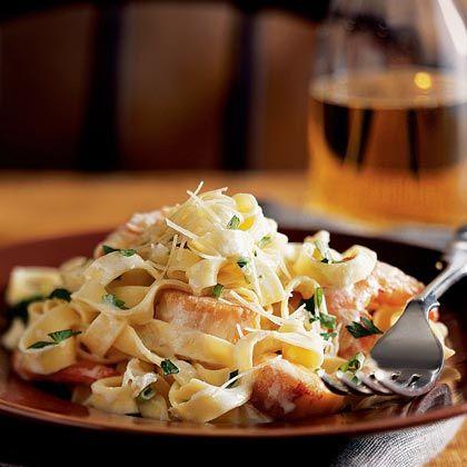 Seafood Fettuccine-crab, shrimp, scallops, oooo ahhhh