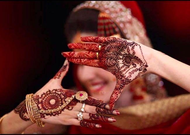 Traditional Bridal Mehndi designs…