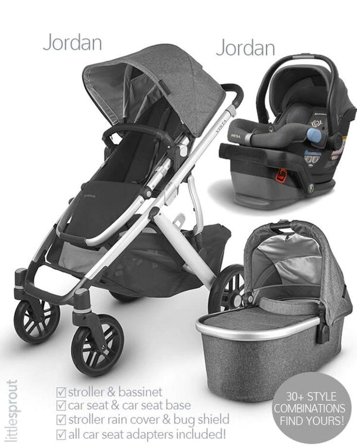 2020 UPPAbaby Vista V2 Stroller and Mesa Car Seat Travel