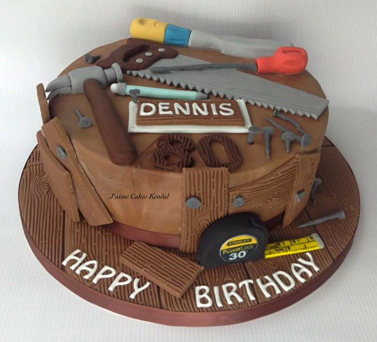 45 Best Carpenter Cake Images On Pinterest Tools Birthdays And