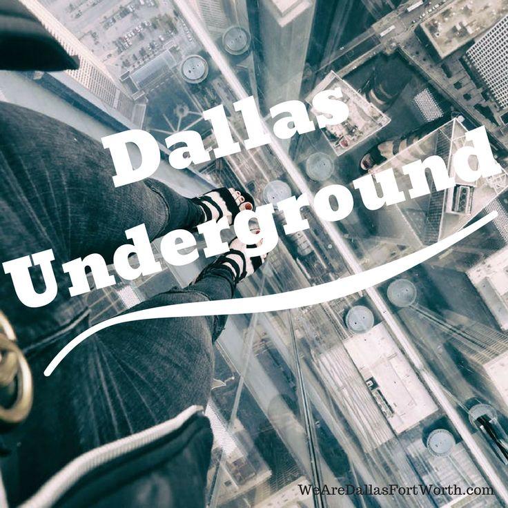 Exploring The Secret Dallas Underground Tunnels