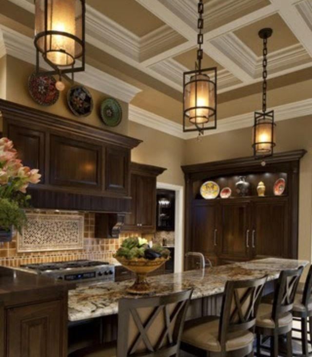 17 Best images about Coffered Ceilings on Pinterest | Beam ...