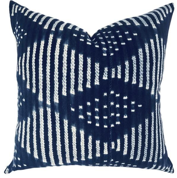 Pillow African Indigo African Indigo Pillows African Indigo Indigo Pillows