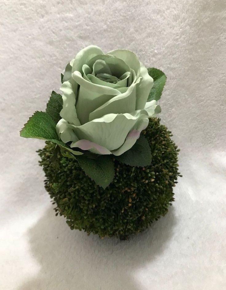 """ELIXITA 4 pcs Wedding Centerpiece Decor Rose & Ball 6"""" Kissing Ball  #ELIXITA"""