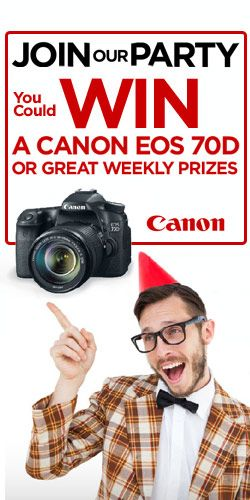 Win Weekly Canon Prizes