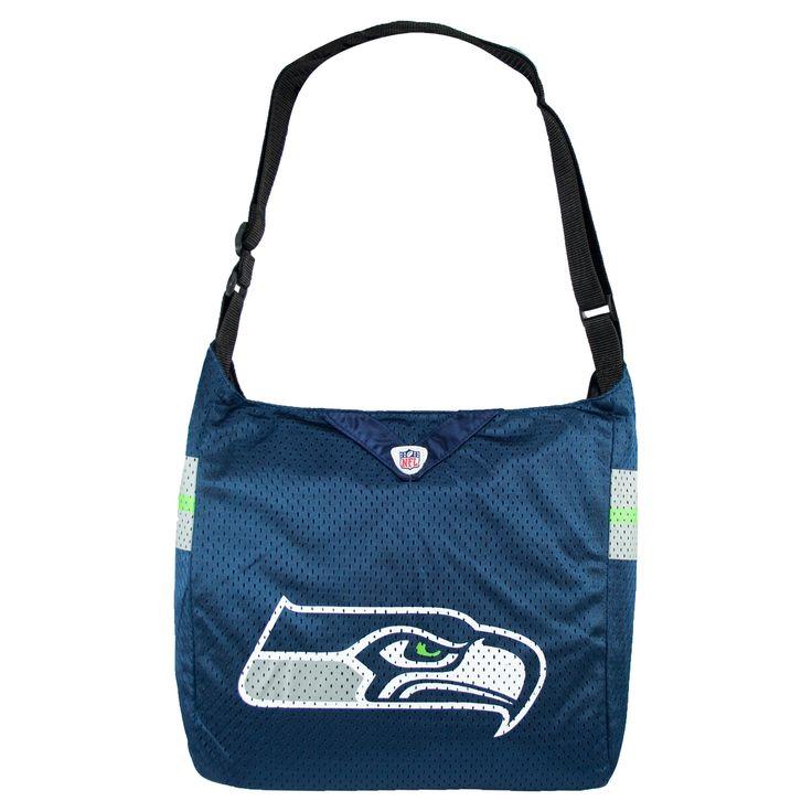 NFL Seattle Seahawks Team Jersey Tote, Women's, Size: Large