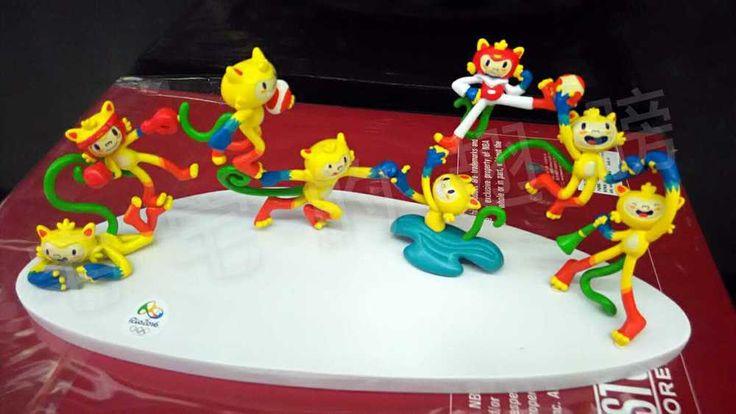 Brazil Rio 2016 Olympic Mascot Vinicius PVC Table Tops,30X10X10cm,New Arrival !   eBay