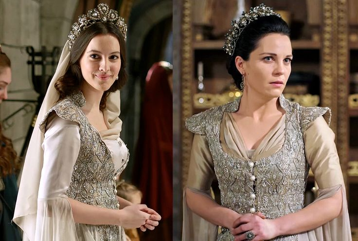 Costume Reuse - Handan or. Ayse: silver embroidered overcoat