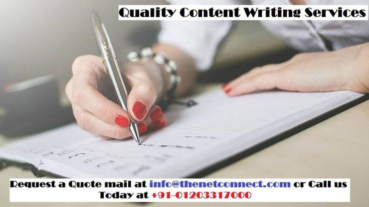 Content is the king of search engine optimization use our content writing services to promote your business.