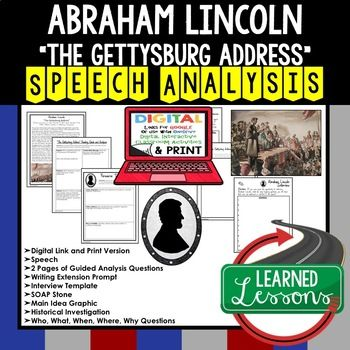 lincoln speech analysis View essay - abraham lincoln speech passage analysis essay from ap  english 3 at douglas county high school, minden we can even learn from our .