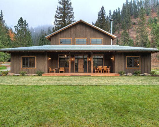 25 best ideas about metal building homes on pinterest for Lucky 4 ranch floor plan