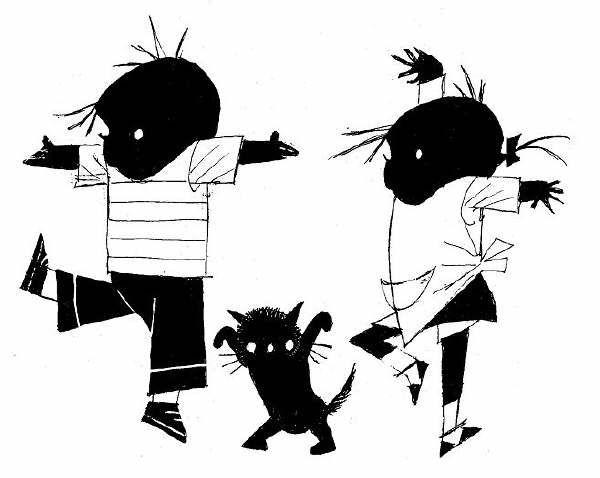 Саша и Маша — архетипы детской литературы. From Jip en Janneke series, written by Annie M.G. Schmidt
