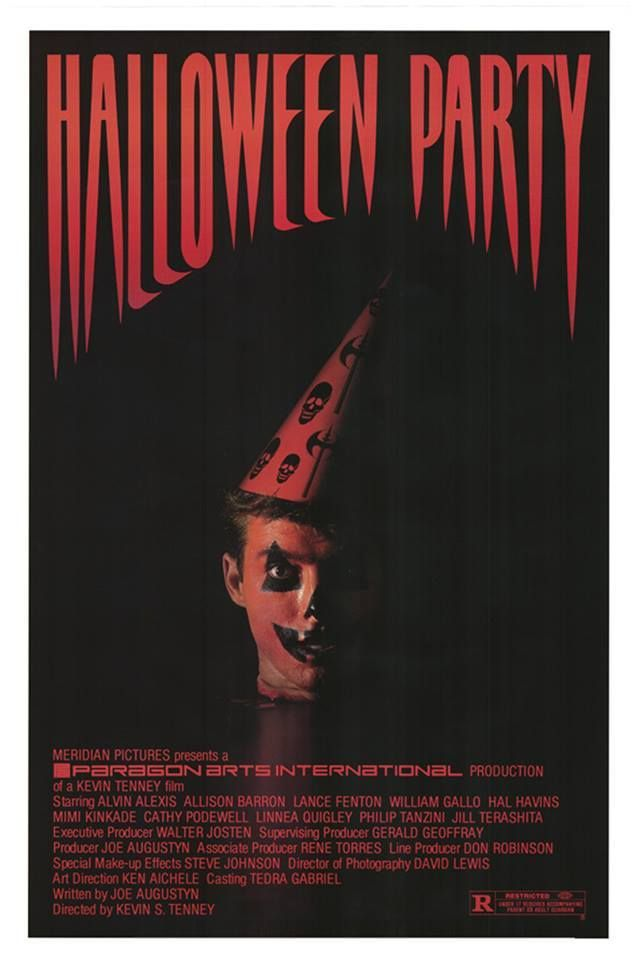 Movie Poster Trash : cinefamily:   Okay, horror fans. How many of you...