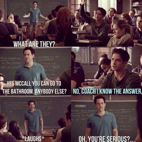 Teen Wolf. Hahaha