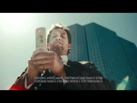 Allstate TV Ad: Text Walker Mayhem