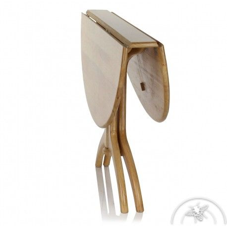 Les 25 meilleures id es concernant table ronde pliante sur - Table pliante pour exposition ...