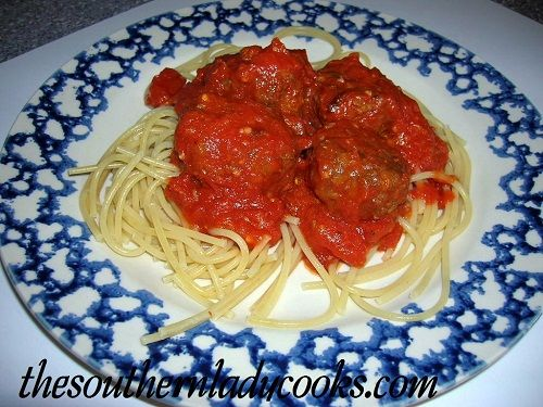 how to cook frozen meatballs for spaghetti