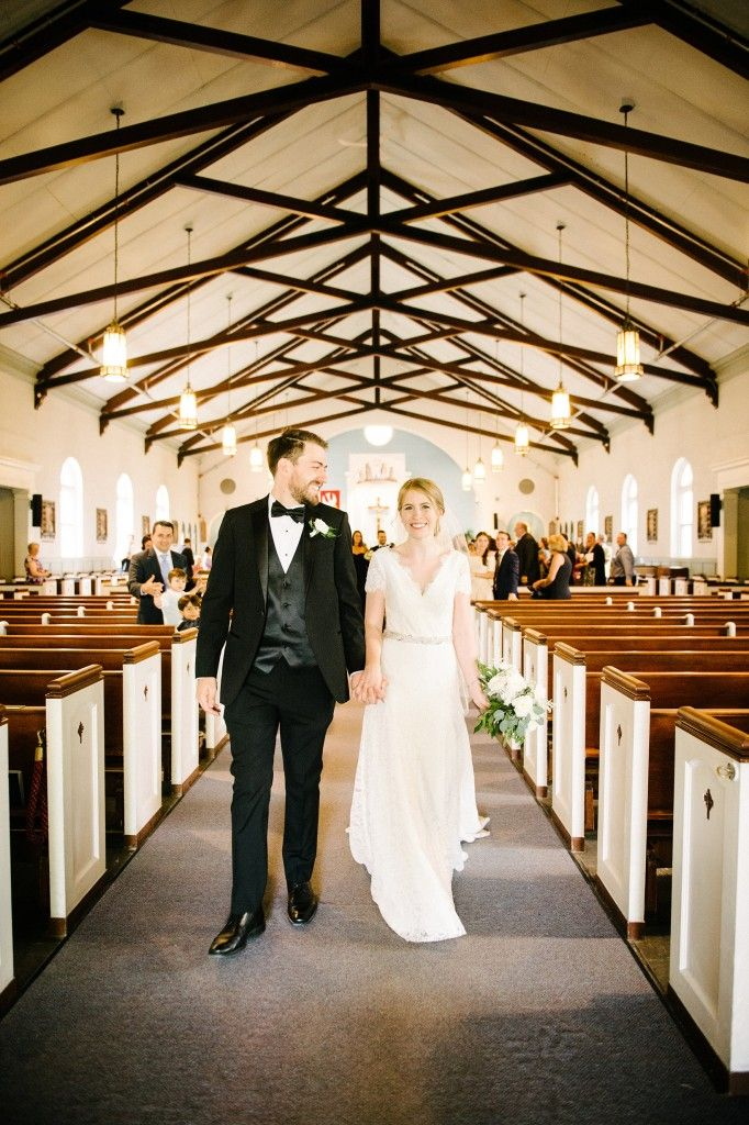 Wedding ceremony St-Monica Church / Cérémonie église St-Monica.