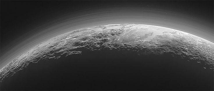 뉴호라이즌스 호가 찍은 명왕성의 모습. 나사(NASA) 제공