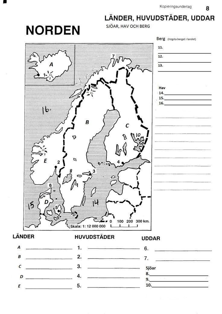 blindkarta norden - Sök på Google
