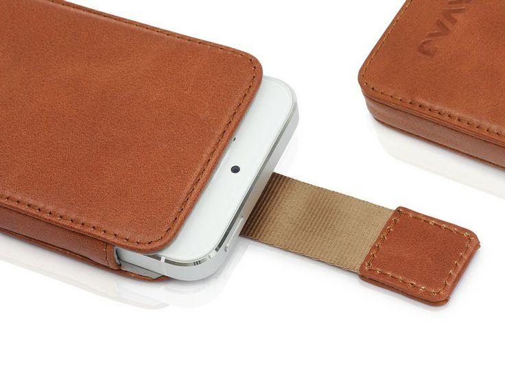 "iPhone 5 Tasche ""Miami"" cognac | KAVAJ"