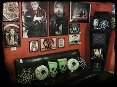 rockabilly decor - Google Search