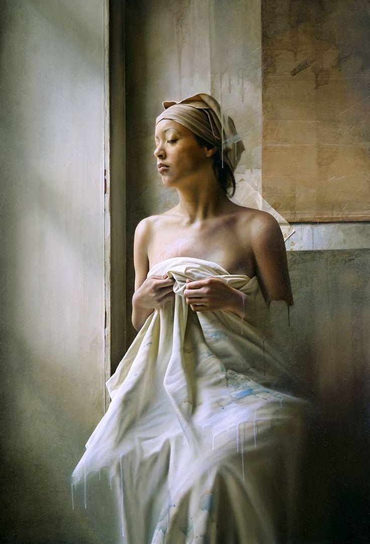 Istvan Sàndorfi ~ Hyperrealist Figurative painter   Tutt'Art@   Pittura * Scultura * Poesia * Musica  