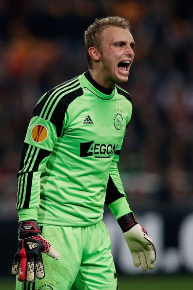 Jasper Cillessen - Ajax Amsterdam v FC Salzburg