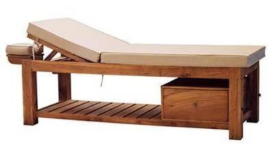 Table de massage fixe / avec rangement TUGU  DYNAMIKA
